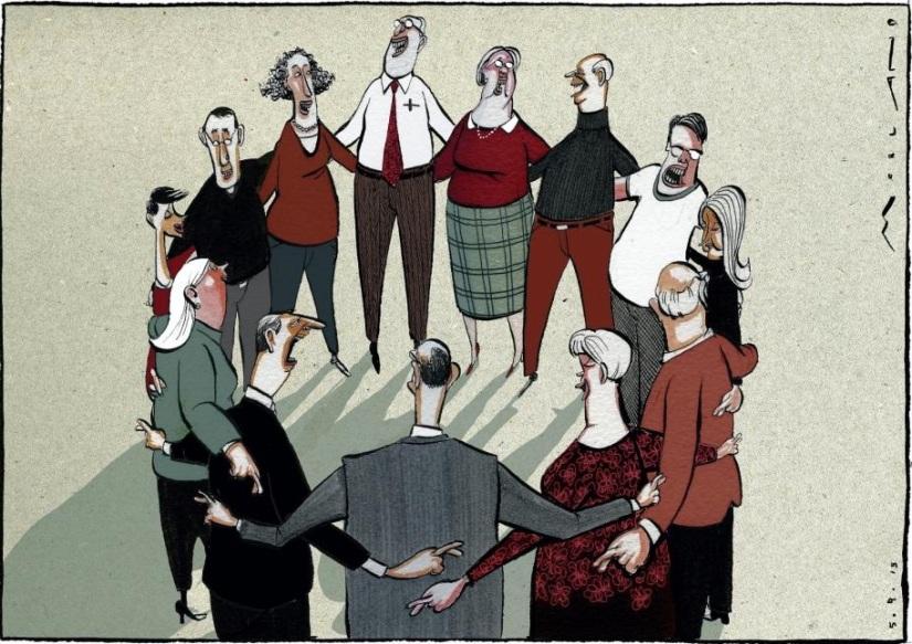Tegning: Morten Mørland