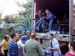 Sykler til Cuba.