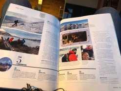 Topptur-reportasje i Widerøe-magasinet